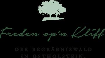 Freden op'n Kliff Logo Waldfriedhof an der Ostsee
