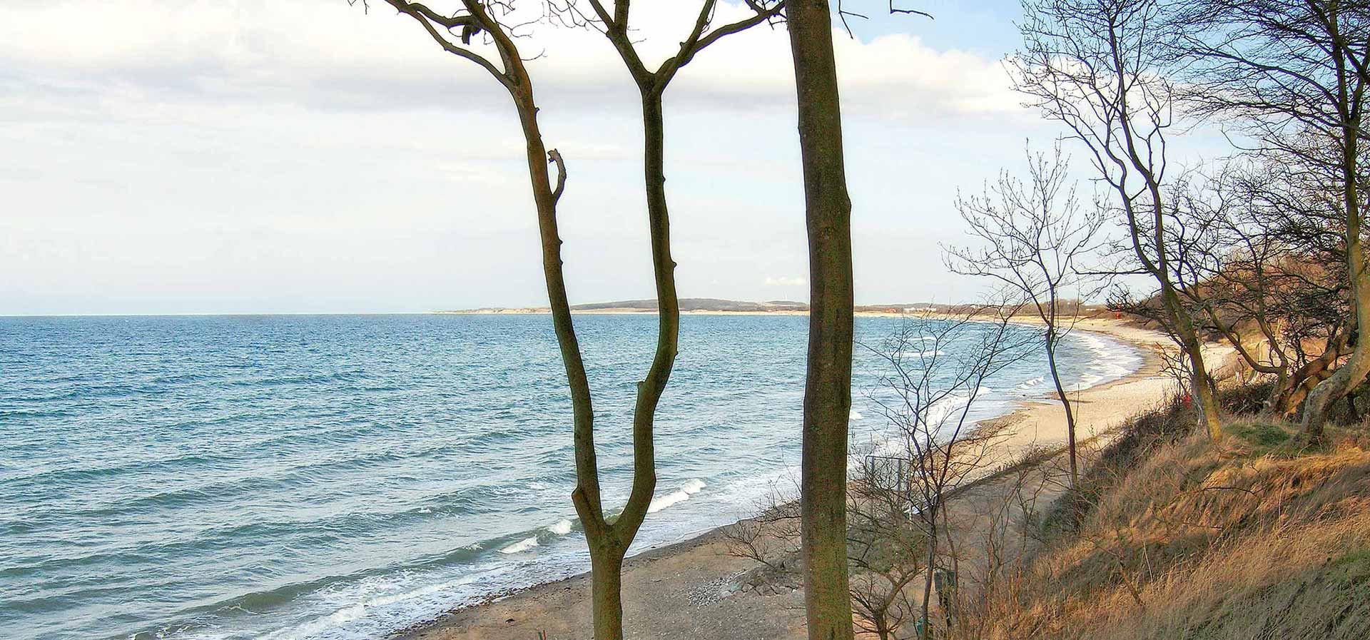 Ostseeküste bei Weißenhaus bzw. Weissenhäuser Strand, Sehlendorf und der Hohwachter Bucht, ein idealer Ort für die letzte Ruhe
